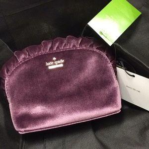 Kate Spade velvet Mini Marcy bag NWT